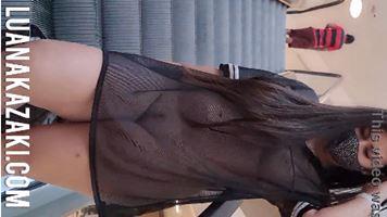 Video polemico Luana Kazaki do Onlyfans pelada no Shopping em Recife